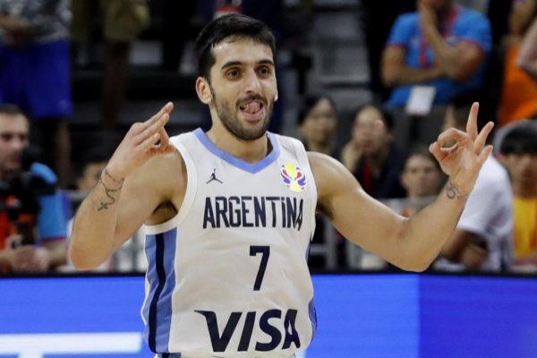 Campazzo en el Mundial de baloncesto 2019