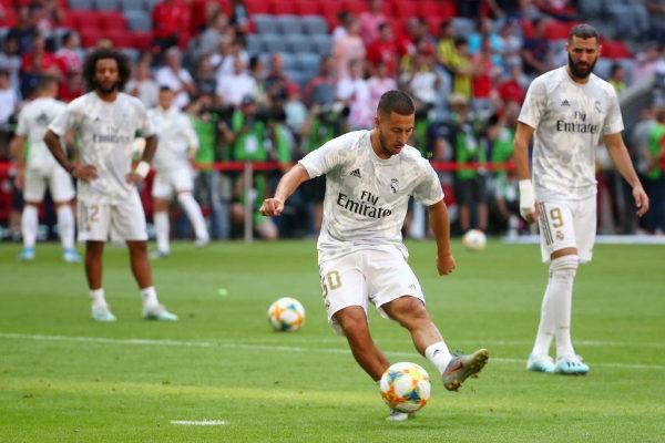 El jugador del Real Madrid Eden Hazard