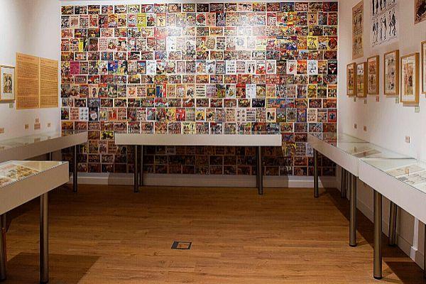 El primer museo español dedicado al cómic está en Sant Cugat.