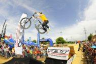 Uno de las actividades en la feria de la bicicleta de Las Rozas.