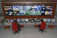 El centro de control de la compañía Cellnex en Arganda (Madrid).