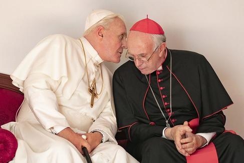 Fotograma de la película 'Los dos papas'