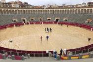 'Dana' obliga a suspender el cartel de las figuras en Albacete