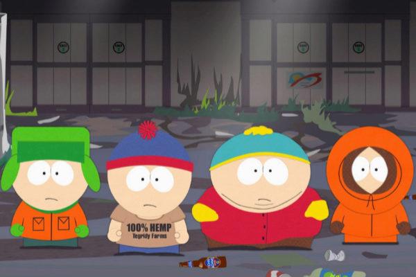 Los protagonistas de 'South Park'.