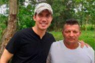 Juan Guaidó junto al narco 'Brother', jefe de Los Rastrojos.