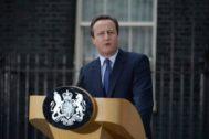 El ex premier británico, David Cameron.