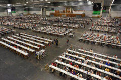 Exámenes celebrados el verano del año pasado en Baracaldo (Vizcaya) para la oferta de empleo público de Educación del Gobierno Vasco.
