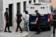 Ana Julia Quezada, trasladada a la Audiencia Provincial de Almería este jueves.