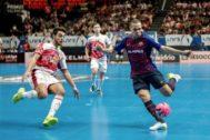 Imagen de la última Supercopa entre ElPozo y el Barça.