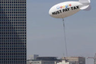 Una reclamación de pago de impuestos dirigida a Google.