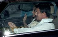 Manuel Valls y Susana Gallardo, a la llegada al cóctel.