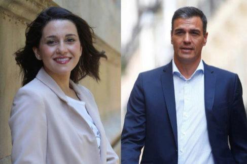 Inés Arrimadas y Pedro Sánchez, los políticos más guapos del Congreso