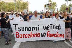 Barcelona se moviliza contra la inseguridad