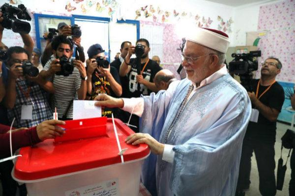 El vicepresidente del partido islámico En Nahda y candidato...