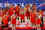 Basketball - FIBA World Cup - Final - Argentina v Spain