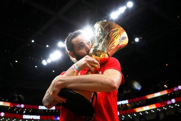 Basketball - FIBA World Cup - Final - Argentina v Spain Basketball -...