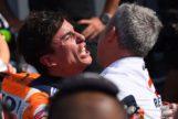 Márquez doblega al 'rookie' Quartararo y acaricia otro Mundial
