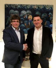 El frente del odio de Puigdemont