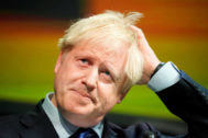 El primer ministro de Reino Unido, Boris Johnson, en una imagen reciente.