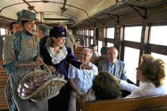 El tren de la fresa de Aranjuez.