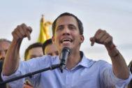 El presidente de la Asamblea Nacional de Venezuela, Juan Guaidó, en una imagen reciente.