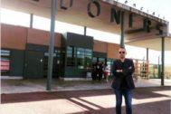 El presentador Risto Mejide, este sábado frente a la cárcel de Lledoners (Barcelona), en una imagen colgada en su perfil de Instagram.