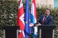 British Prime Minister <HIT>Boris</HIT> <HIT>Johnson</HIT> visits Luxembourg