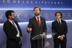 Vox rechaza condenar el franquismo y propone en el Congreso derogar la Ley de Memoria Histórica