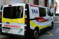 Los médicos se desplazaban hasta el año pasado con ambulancias.