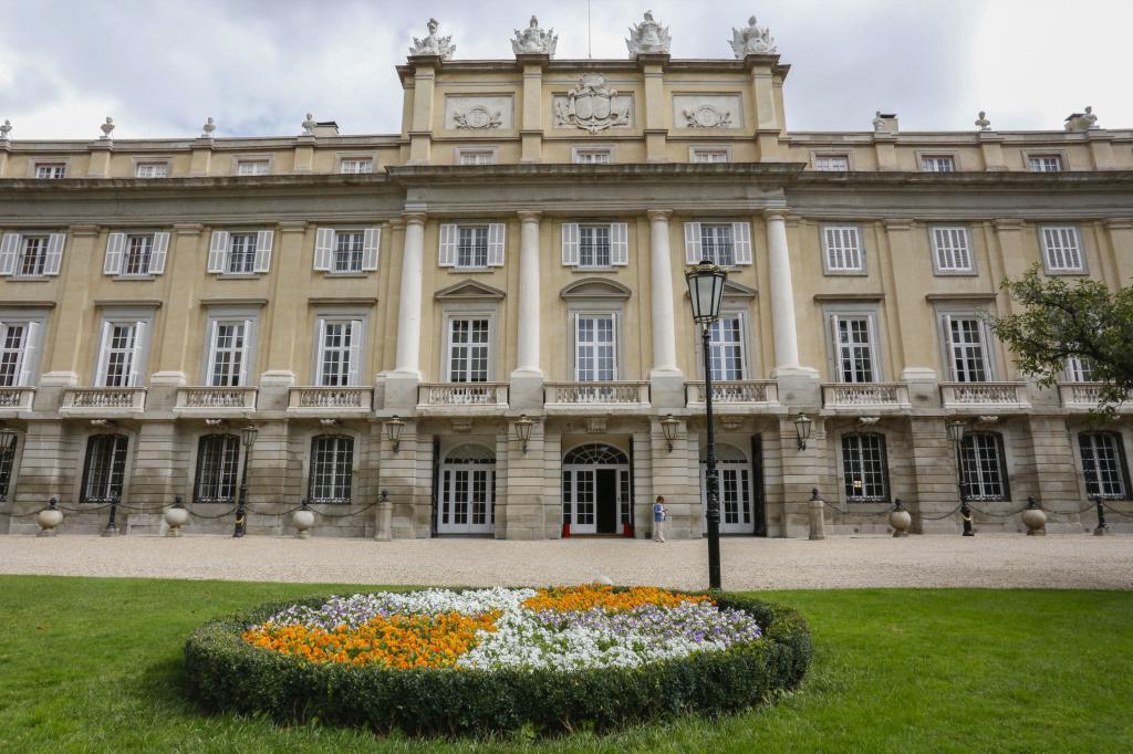 La fachada del Palacio de Liria