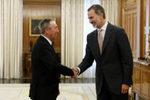 """Los políticos a los que ha recibido hoy el Rey coinciden: """"Sánchez no quiere el acuerdo; vamos a elecciones"""""""