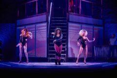 Imagen de una de las coreografías del musical Flashdance que se podrá ver en el Teatro Olympia. EL MUNDO