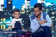 Hugo Molina, el concursante más joven de Got Talent, enamoró al jurado del programa de Telecinco con su tambor