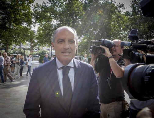El ex presidente de la Comunidad Valenciana, Francisco Camps, en una...