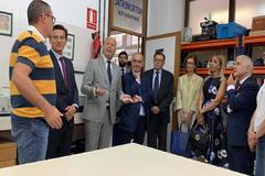 El consejero de Educación, Javier Imbroda, este lunes en la inauguración del curso en el IES Zaidín Vergeles de Granada.