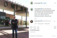 Con esta fotografía Risto Mejide compartió con sus seguidores en Instagram su paso por la prisión.