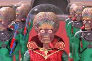 Fotograma de la película de Tim Burton 'Mars Attacks'.