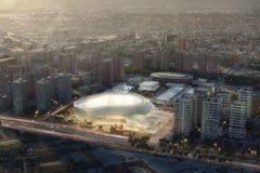 Figuración del Valencia Arena presentada por Licampa.