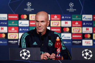 Champions League - Real Madrid Press Conference Soccer Football -...