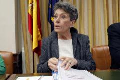 Rosa María Mateo, en una comparecencia en el Congreso