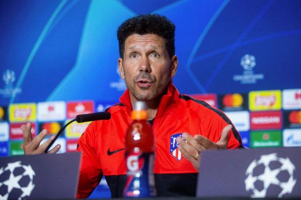 GRAF4106. MADRID.- El entrenador del Atlético de Madrid, Diego Pablo...