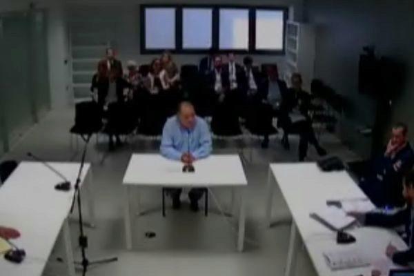 Imagen de la declaración en la Audiencia Nacional del empresario Joan Manuel Parra