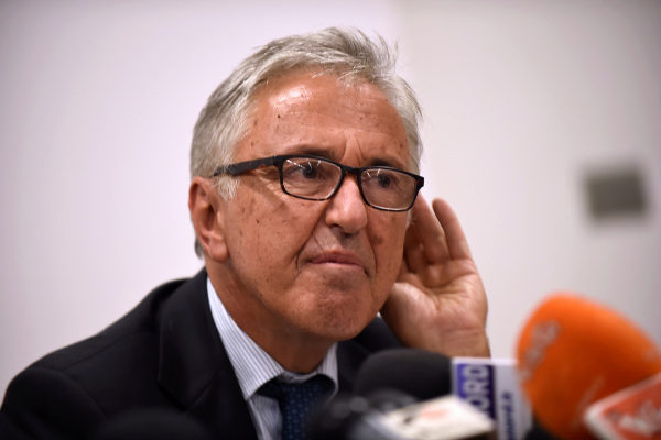 FILE PHOTO: Autostrade per l&apos;Italia CEO <HIT>Castellucci</HIT>...