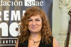 Pilar Jurado, presidenta de SGAE, este lunes en Málaga.