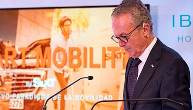 Estanislao De Mata, director general de Sixt España.