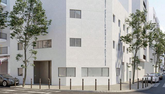 Imagen del proyecto del nuevo albergue municipal del Ayuntamiento de Ibiza.