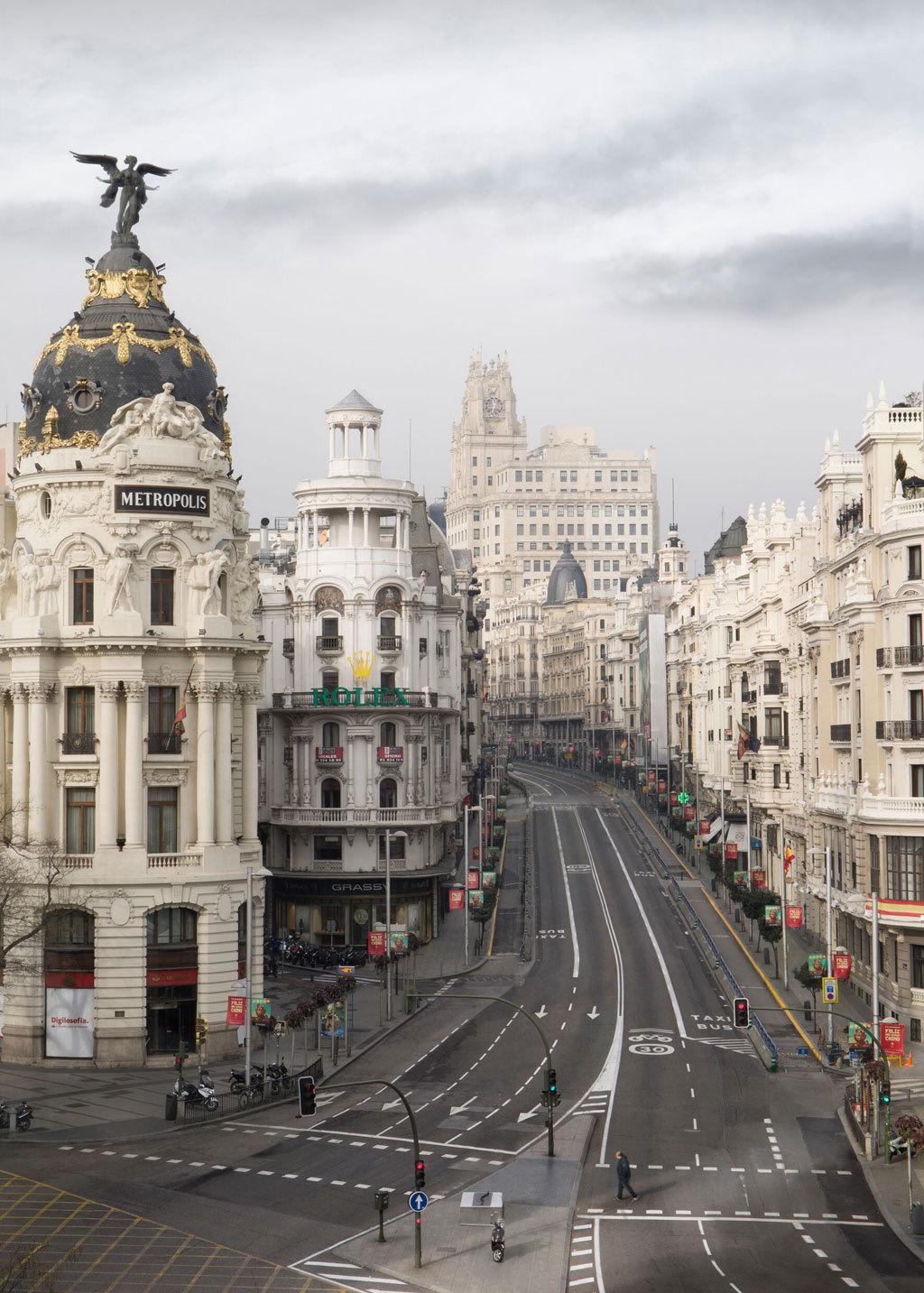 La Puerta del Sol, Callao, la Gran Vía o el Paseo de la Castellana...