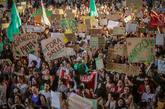 Ellas lideran las protestas contra las políticas del odio. No...