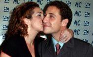 Rocío Carrasco besando a Antonio David