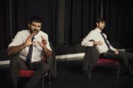 Momento de la obra 'Sueños y visiones de Rodrigo Rato' en el Teatro Pavón.